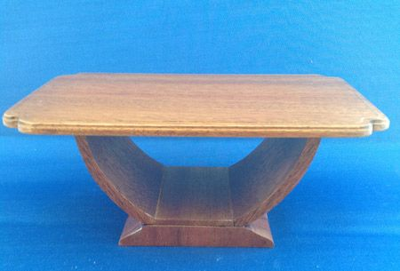 215. 1930s Arched Dining Table