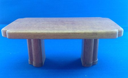216. 1930s Dining Table (twin stem)