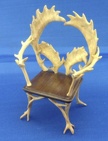 Antler Chair (curved Antlers)