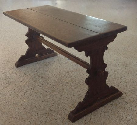 253. Renaissance Wooden Table